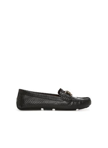 George Hogg Kadın Loafer Ayakkabı 7004713 Siyah